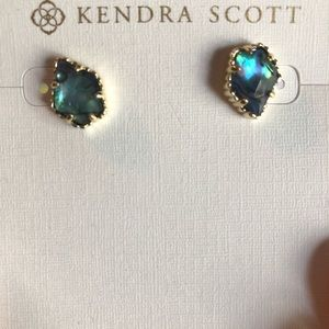 Kendra Scott Tessa Gold Stud Earrings